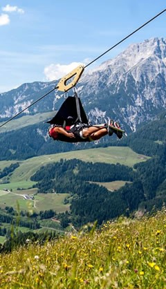 Salzburg - Flying Fox XXL Saalfelden Leogang