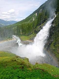 Salzburg - Wasserfalldorf Krimml - Hohe Tauern