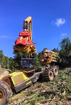 Kärnten - Konrad Harvester Die Evolution der Holzernte