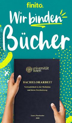 Wien - Buchbindungen und Digitaldruck - CopyShop für Schüler & Studenten