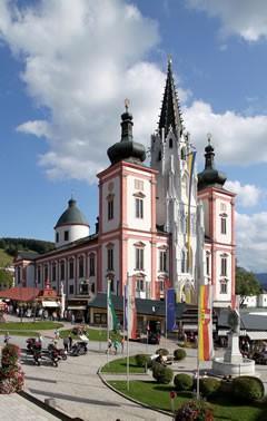 Steiermark - Wallfahrtsort Basilika Mariazell
