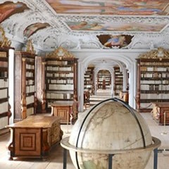 Oberösterreich - Stift Kremsmünster: Museum, Bibliothek & Sternwarte